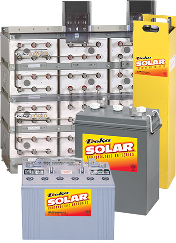 Deka Solar Batteries Power Solutions