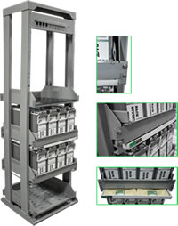 Aptus Front Access Battery Racks