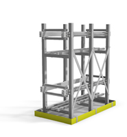 Aptus Heavy Seismic Battery Racks