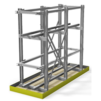 Aptus Light Seismic Battery Racks