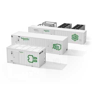 Schneider Electric Prefabricated Data Center Modules - Power Solutions
