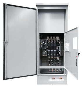ASCO Series 300 Manual Transfer Switch with Integrated Quick-Connects (MTQ)